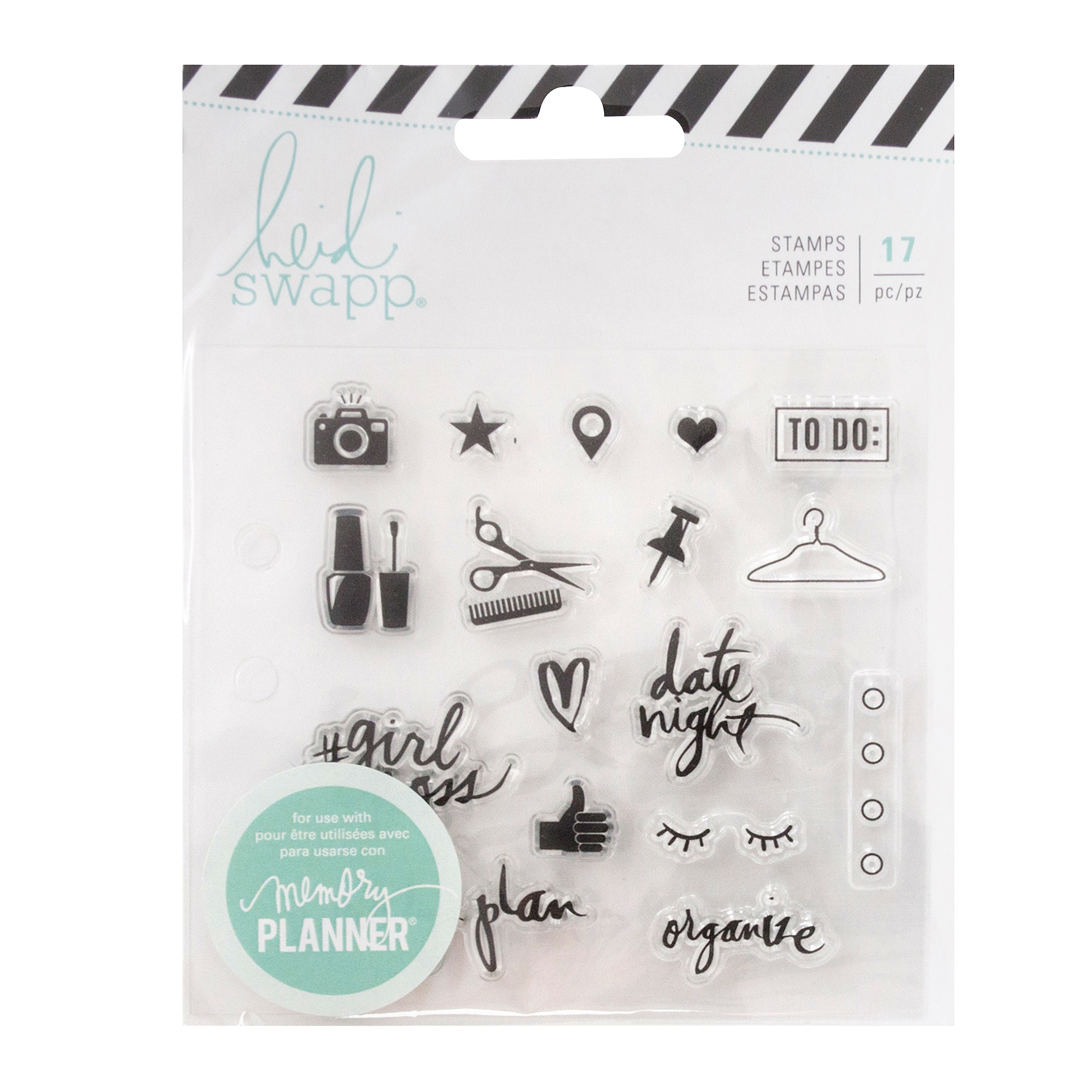 Heidi Swapp Memory Planner Clear Stamps Fresh Start, Everyday에 대한 이미지 검색결과