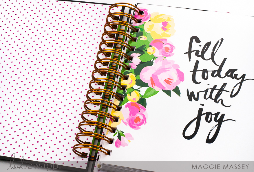 How I document our daily lives ... a look at February 2018 | Heidi Swapp Fresh Start | Maggie Massey