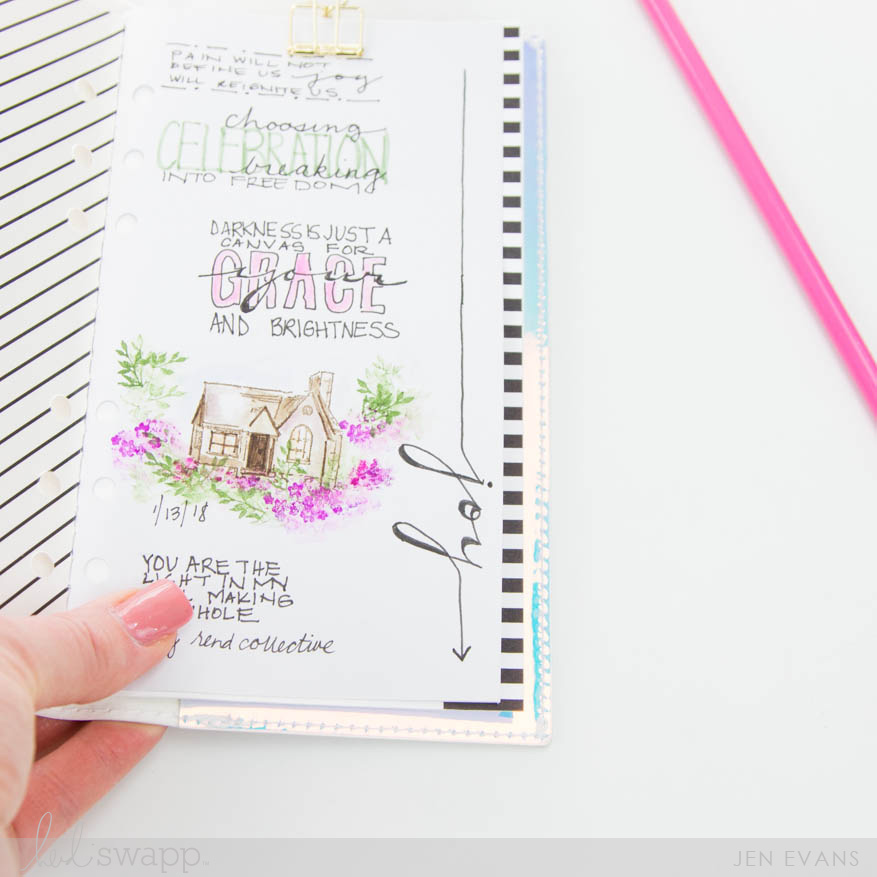 How to Add Inserts into a Heidi Swapp Travel Journal by @createoften for @heidiswapp