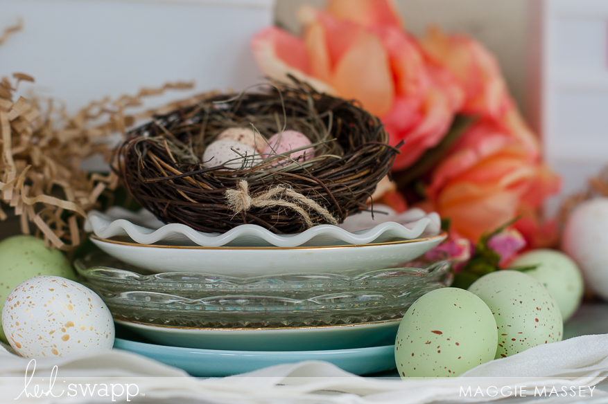 Create a Spring Vignette with Lightbox & Michaels | Maggie Massey for Heidi Swapp