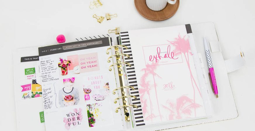 Embracing the Memory Planner by @createoften for @heidiswapp