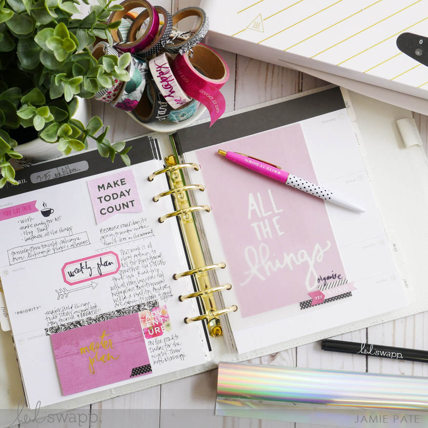 Minc It Monday - New Heidi Swapp Glue Pens | @jamiepate for @heidiswapp