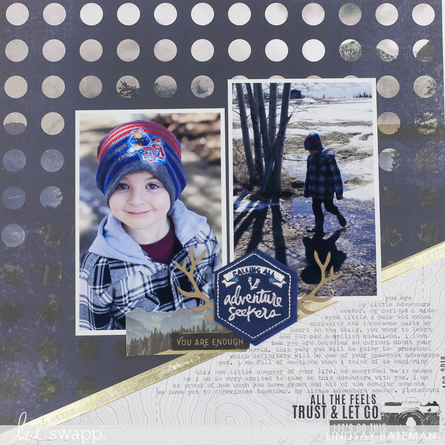 hawthorne exclusive patches at joann I @lindsaybateman for @heidiswapp