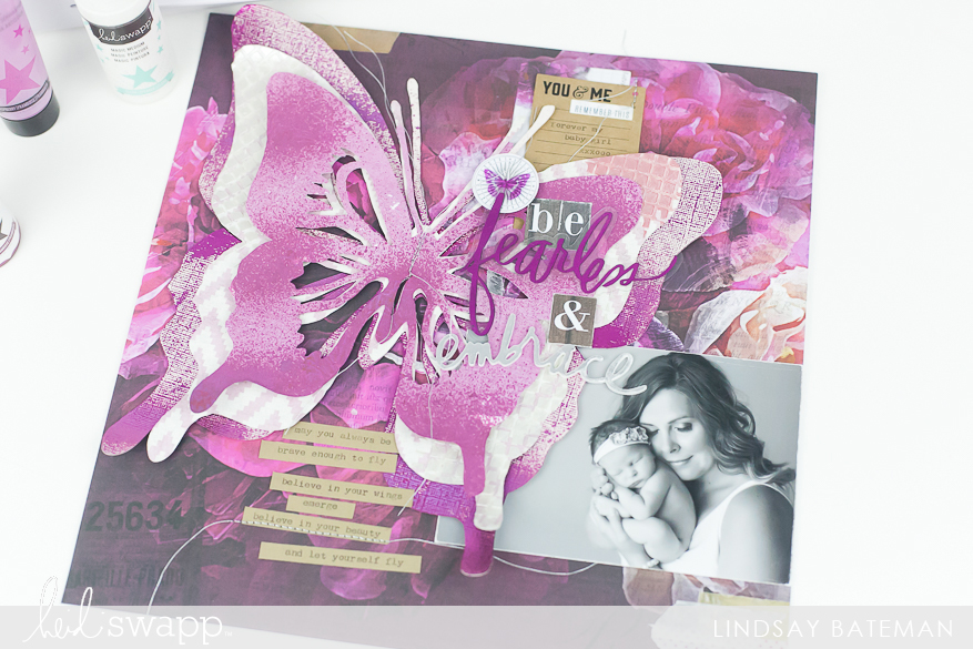 magic medium and mixed media I @lindsaybateman for @heidiswapp