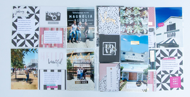 Heidi Swapp Magnolia Jane Project Life Kit now in Jo-Ann Fabric and Craft stores page by @createoften