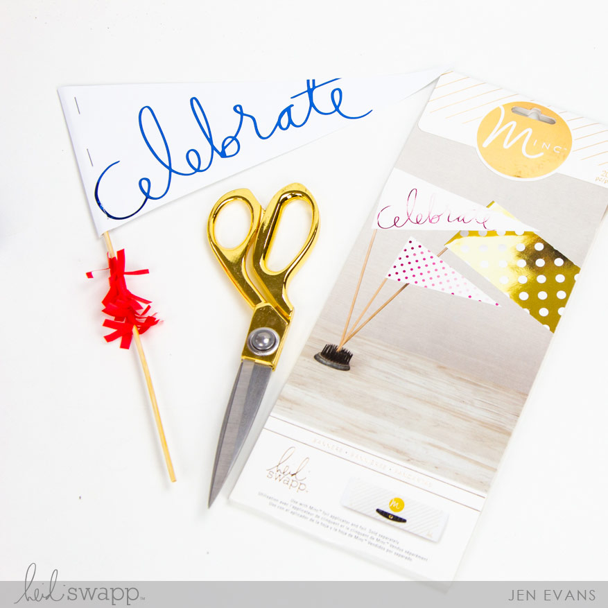 Celebrate 4th of July with the @heidiswapp Minc available at Jo-Ann Stores by @createoften