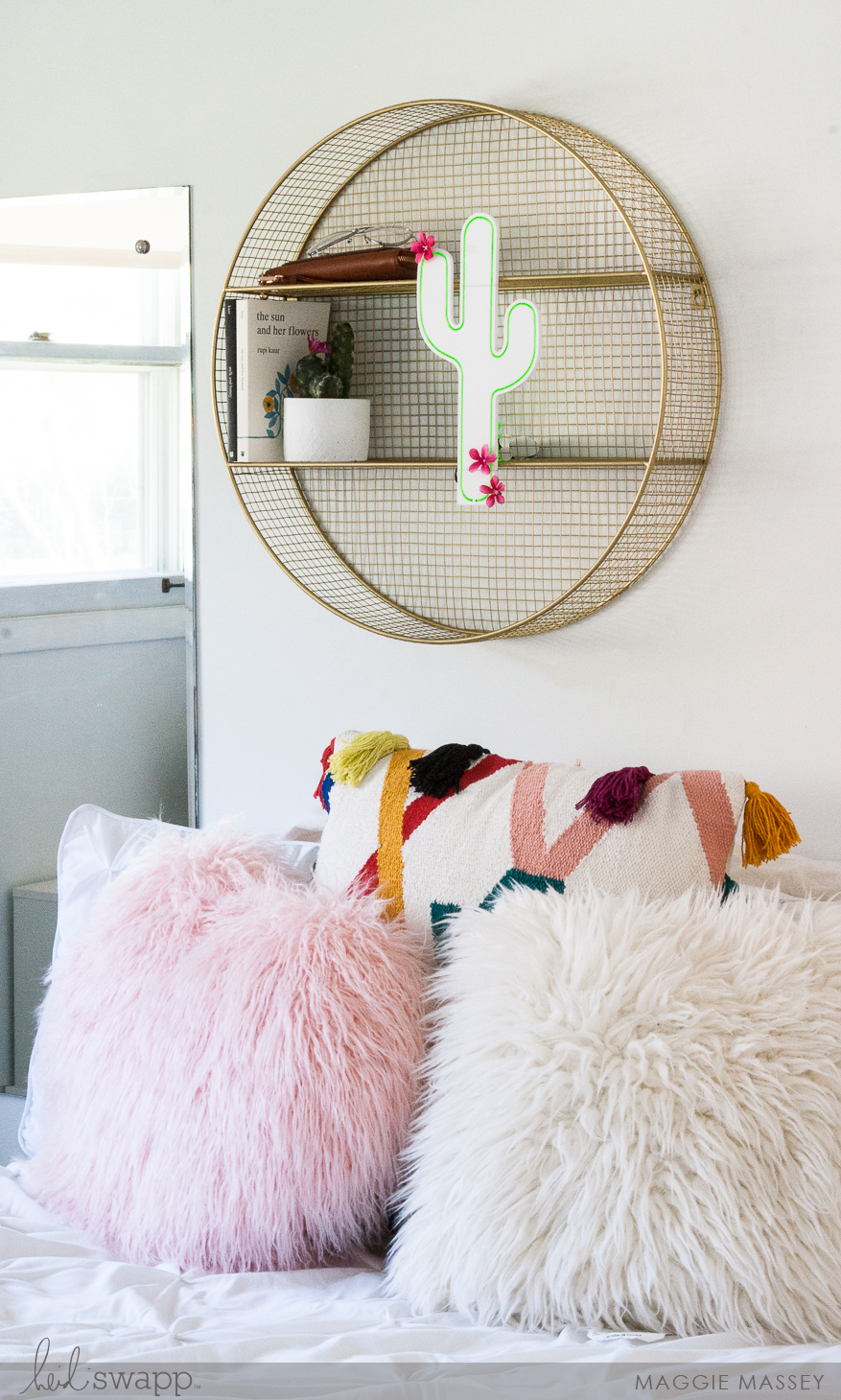 Heidi Swapp Neon Glow Teen Room Decor | Maggie Massey for Heidi Swapp