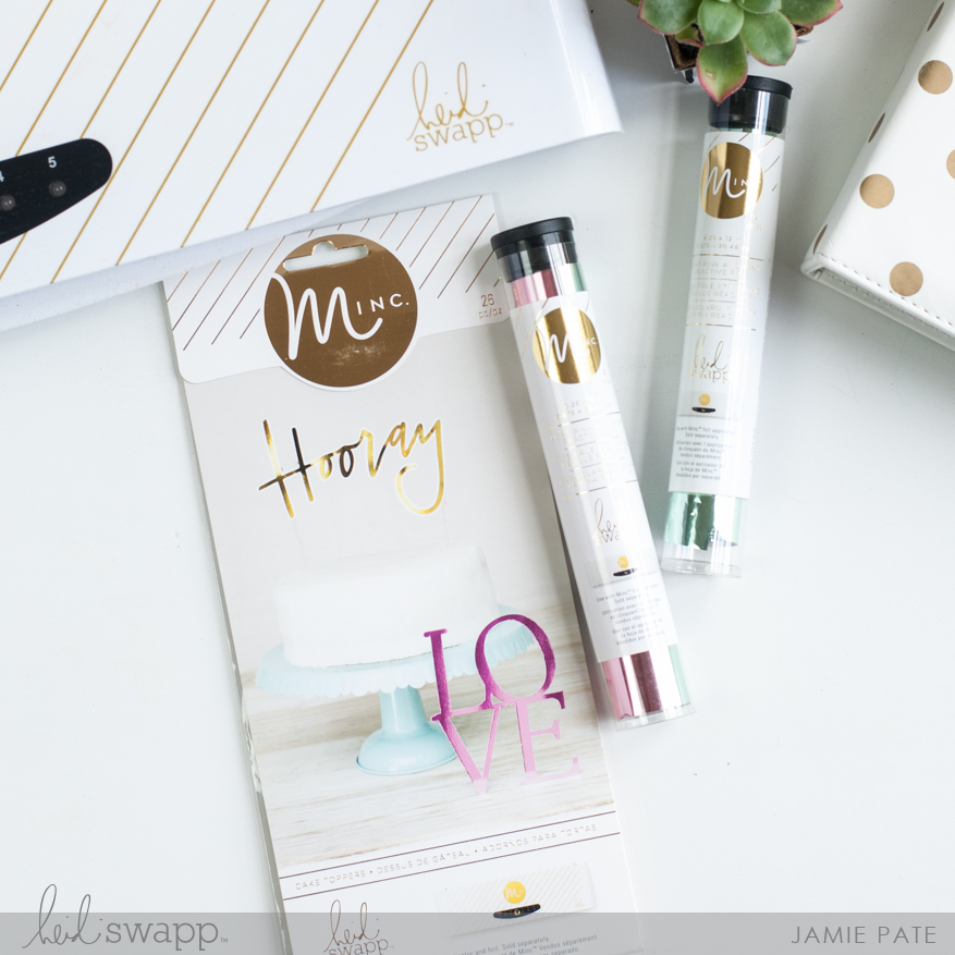 Minc It Monday | @jamiepate for @heidiswapp