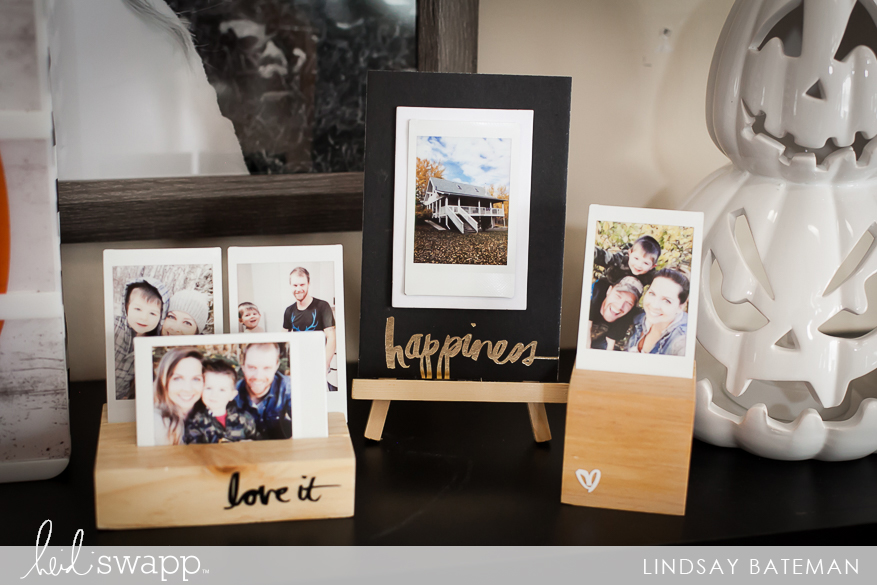 Instax Wood Photo Display I @lindsaybateman for @heidiswapp