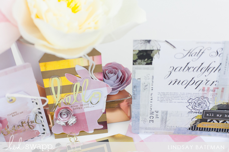 magnolia jane easter cards I @lindsaybateman for @heidiswapp