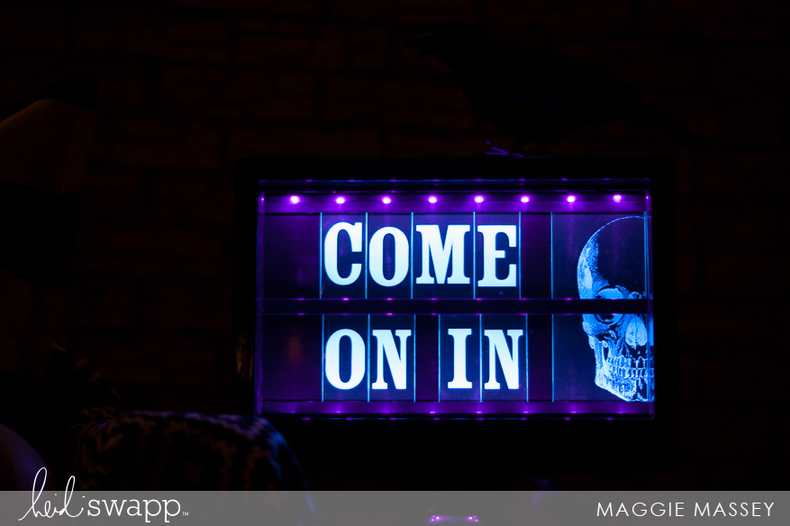 Heidi Swapp Lightbox Glow | Perfect for Halloween! :: Maggie Massey for Heidi Swapp