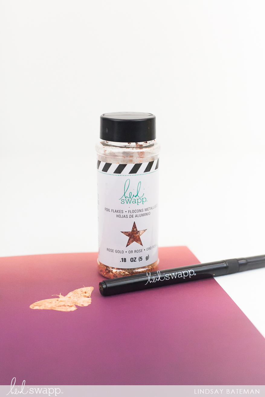 Heidi Swapp | How to Use the Heidi Swapp Glue Pen with Foil